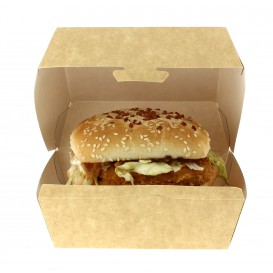 Kraft Hamburger bakjes 12x12x7cm (450 stuks)